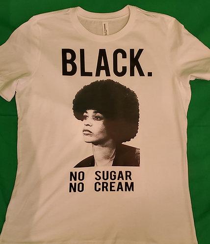 Black - No Sugar No Cream: Angela Davis