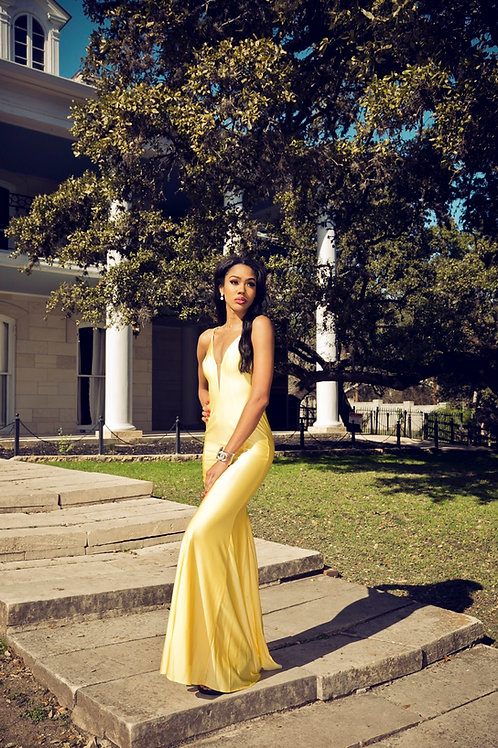Yellow Spring Gown