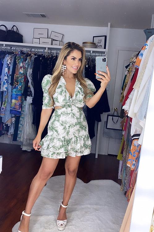 Palm Breeze Dress