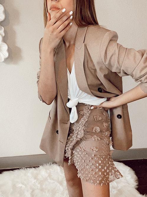 Khaki Oatmeal skirt