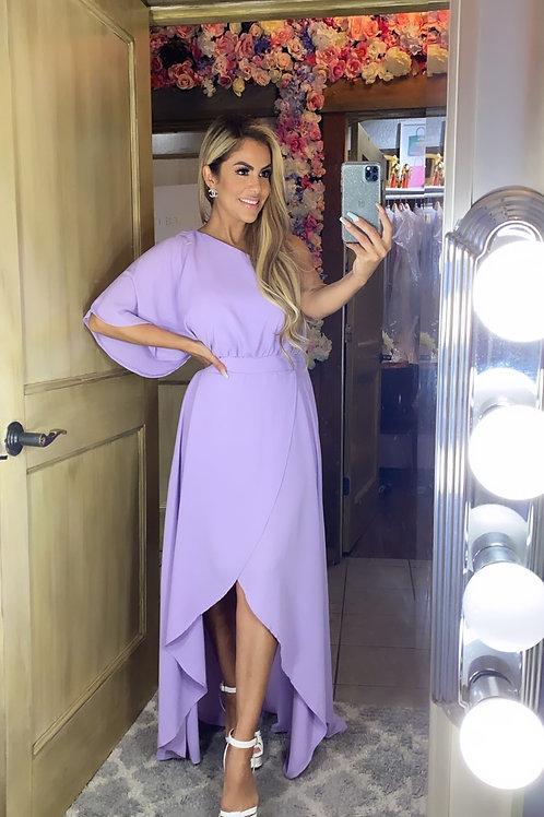 Lavender Minimalist Dress