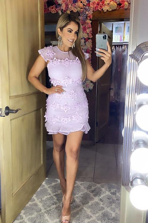 Lavender Field Dress
