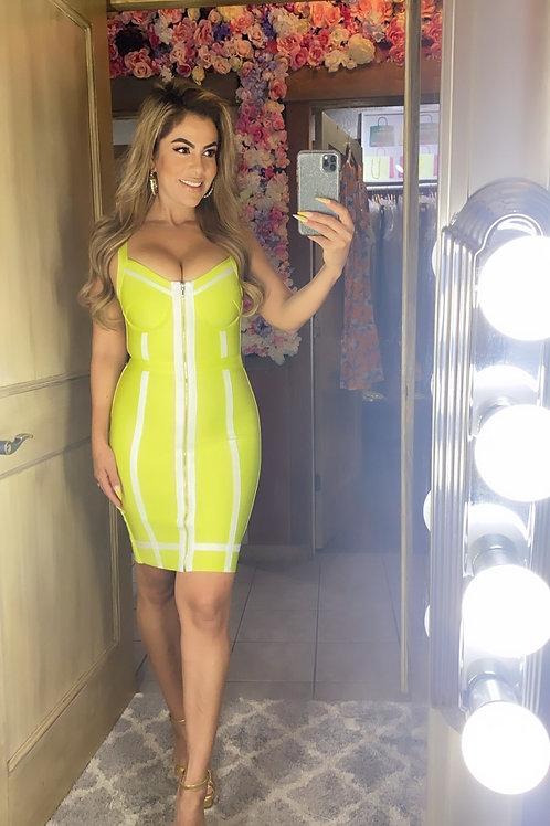 Míami Lime Dress