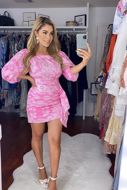 Athina Pink dress