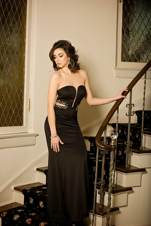 Fifty Shades Black Gown