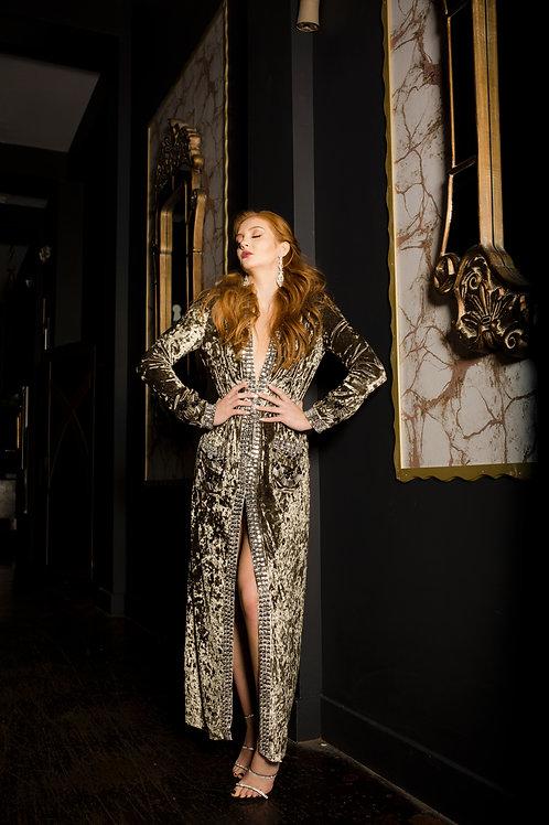 Velvet Duster Dress