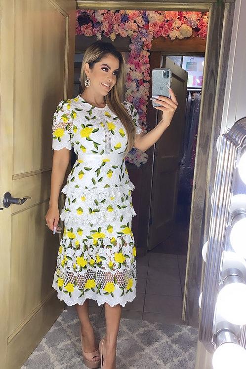 Limoncello Lace Dress
