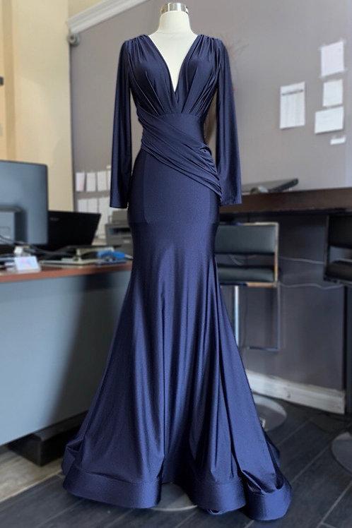 Midnight Blue Gown