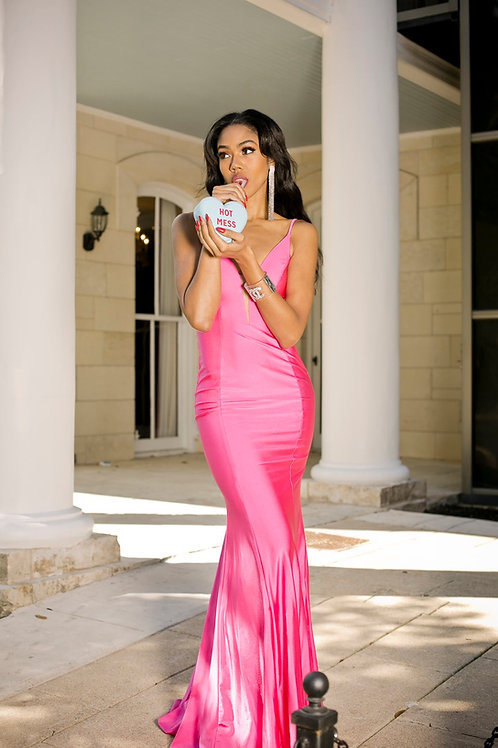 Haute Mess Pink Gown