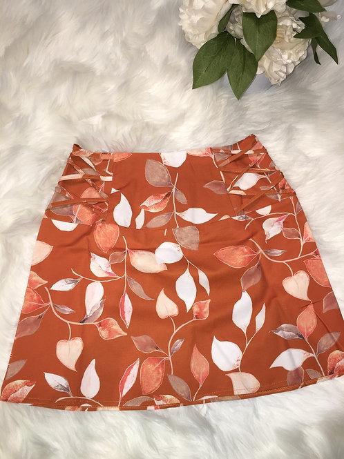 Mod Orange Skirt