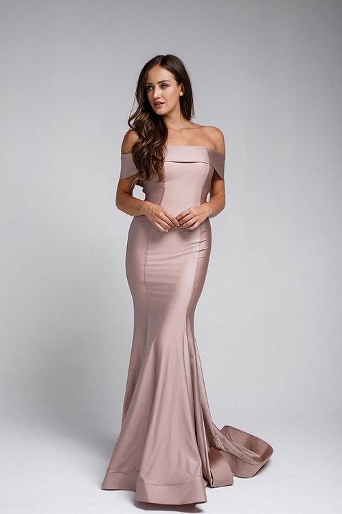 Blush Mermaid Gown