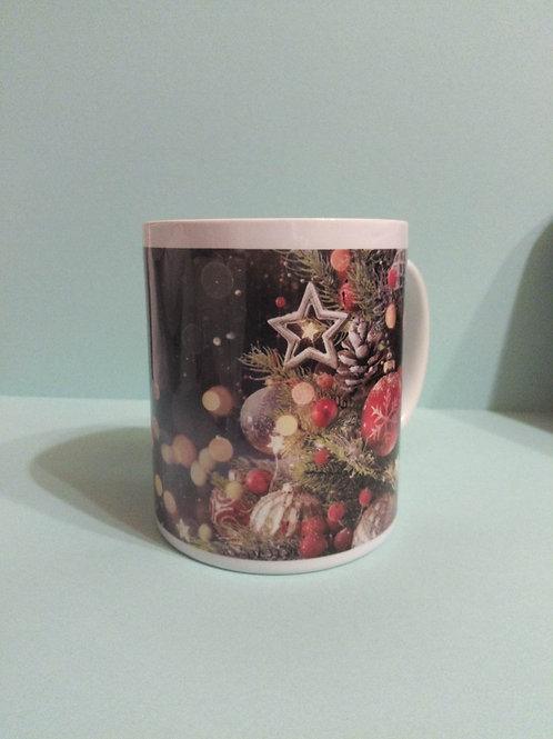 Personalised Christmas Tree Mug