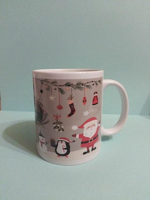 Christmas mug, childrens design