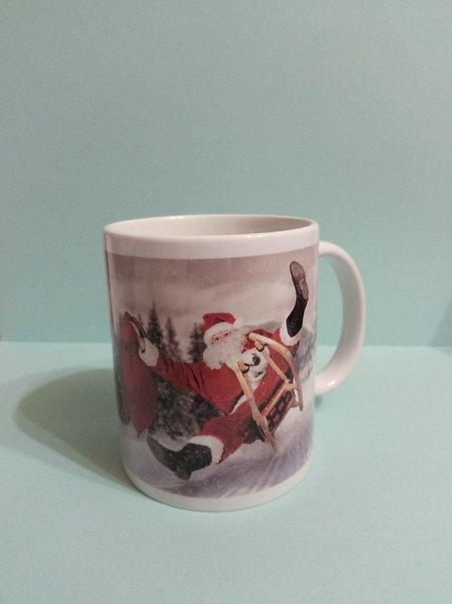 Santa Personalised Christmas Mug
