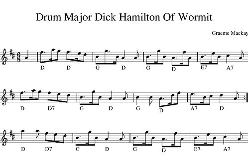 Drum Major Dick Hamilton Of Wormit Download