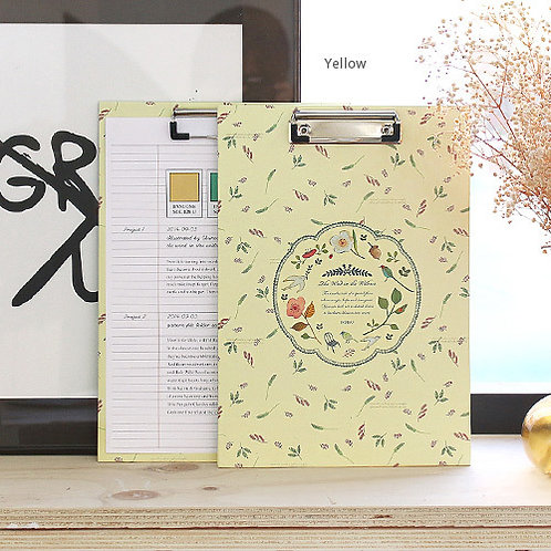 CLIPBOARD Floral