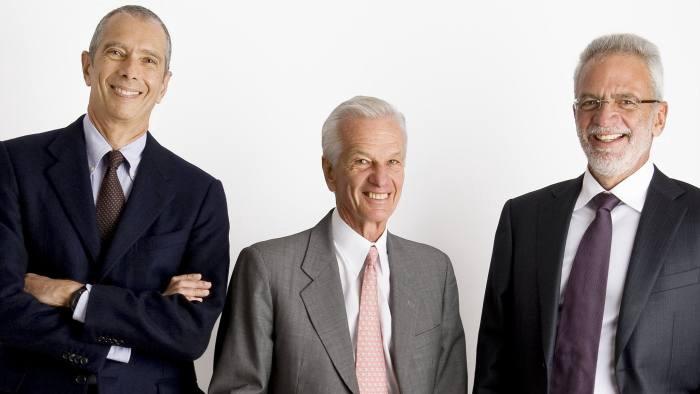 Carlos Alberto Sicupira, Jorge Paulo Lemann and Marcel Telles