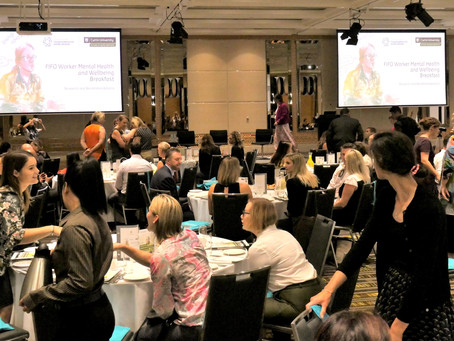 Leading the conversation on what can be done for the FIFO Workers' Mental Health and Wellbeing