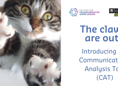 The claws are out! Introducing the CAT (Communication Analysis Tool) – Part 1
