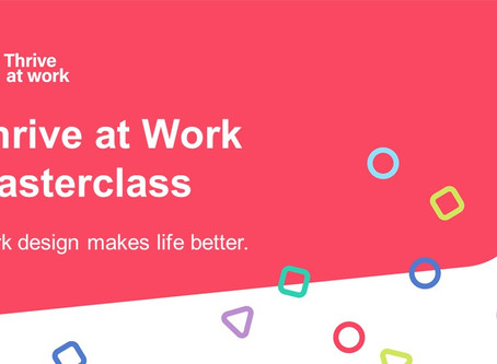 Thrive at Work Masterclass