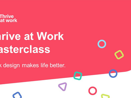 Thrive at Work Masterclass