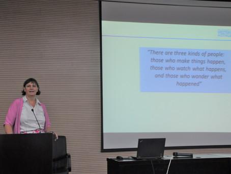 """Wise proactivity"" Presentation in Shanghai"
