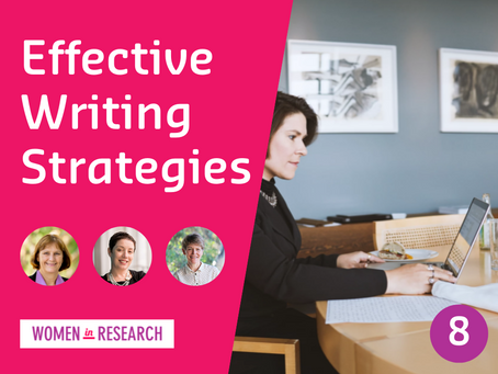 Webinar #8: Effective Writing Strategies