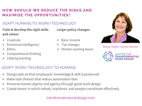 Future Work: Implications for Job Quality and Employee Skill