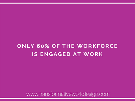 How do we get the other 40% of the workforce engaged?