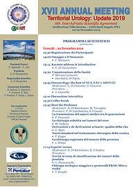 XVII ANNUAL MEETING 2019 - Programma Sci