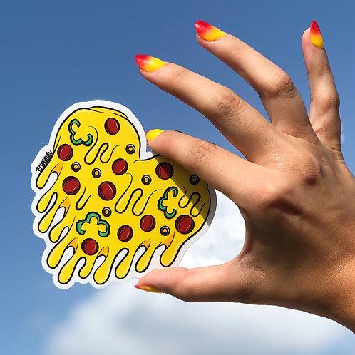 Cheesy Love Sticker