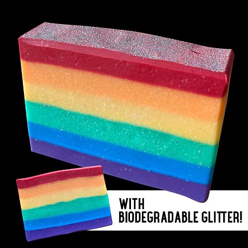 Pride Flag Soap Bar