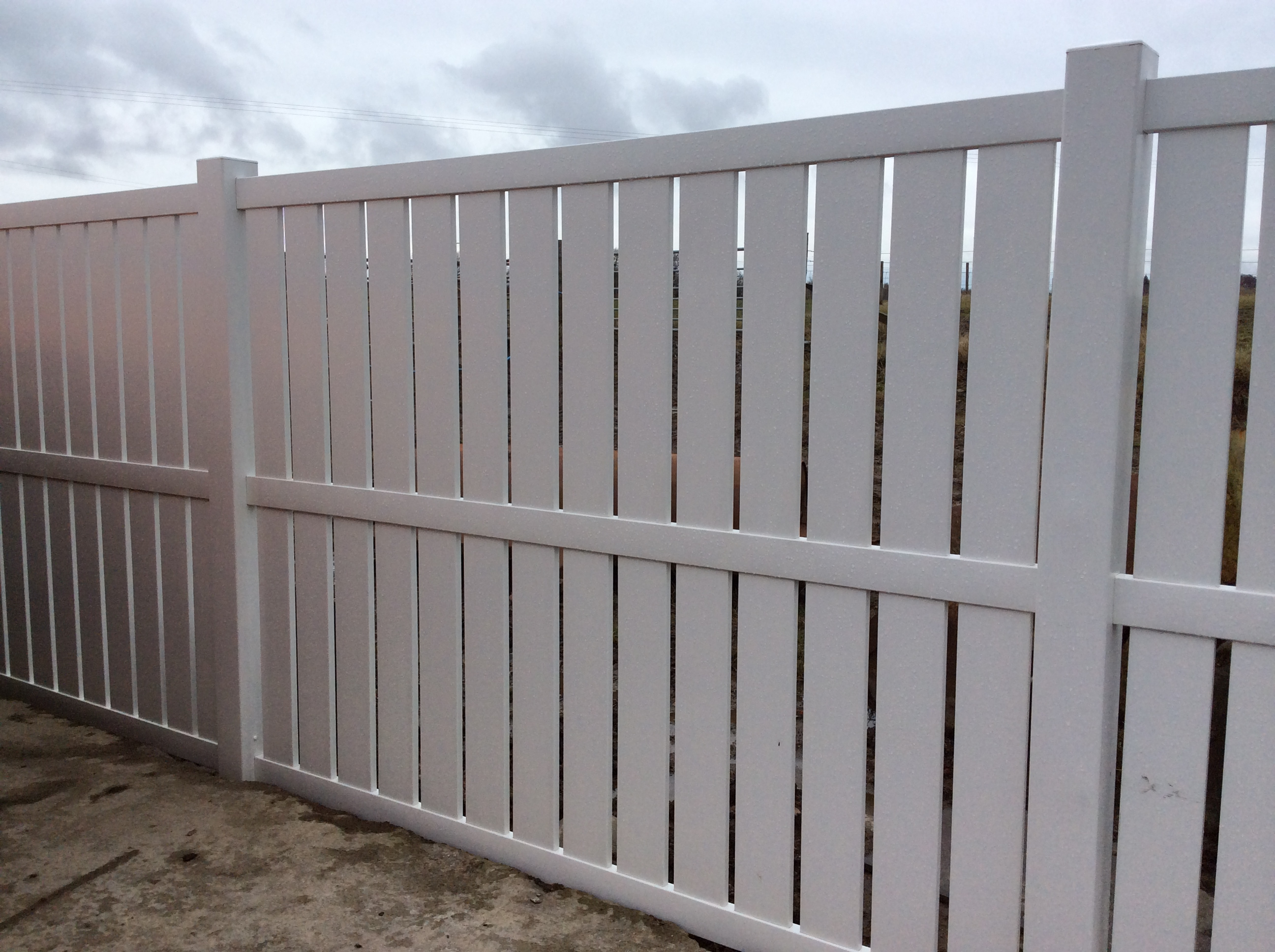 Hy-Clad Ltd - PVC Fencing