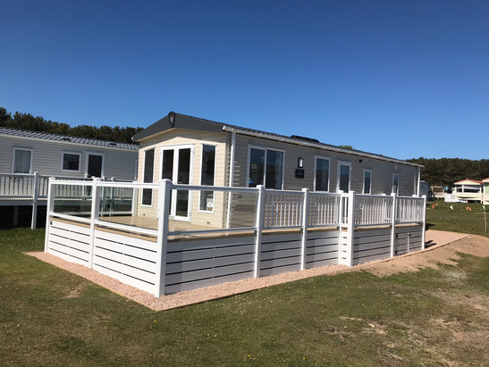 Holiday Home PVC Decking