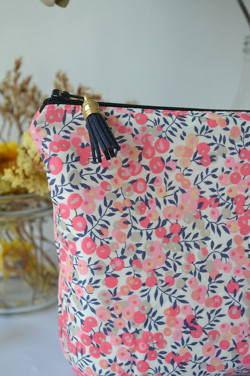 Trousse Liberty Wiltshire rose
