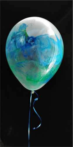 Paint & balloons