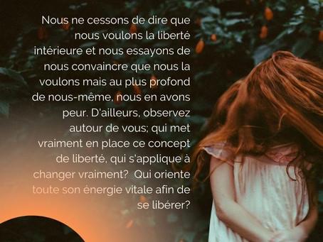 LA MEDITATION & LA LIBERTE INTERIEURE