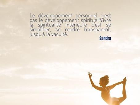 ▲À propos du développement (indécent) de la spiritualité comme moyen d'avoir plus, d'accéder à ...