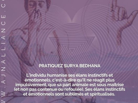 PRANAYAMA (maîtrise des souffles vitaux)🔴  SURYA BEDHANA 🔴