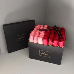 LUXE 50 rosas