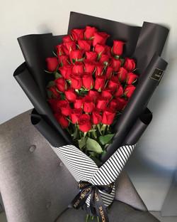 (50 rosas )