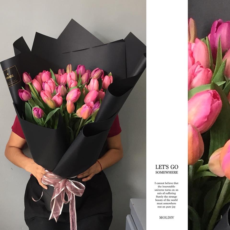 60 Tulipanes