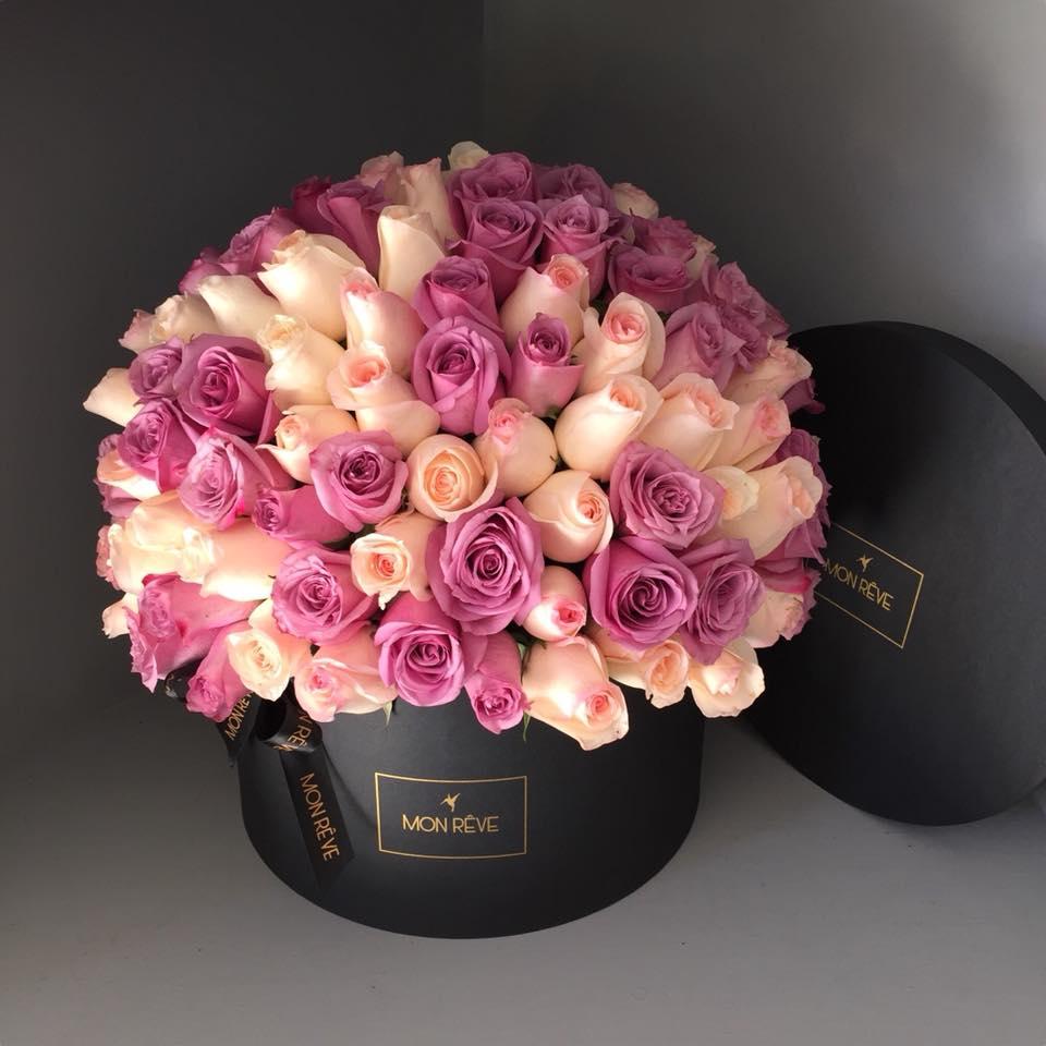 Caja 200 rosas
