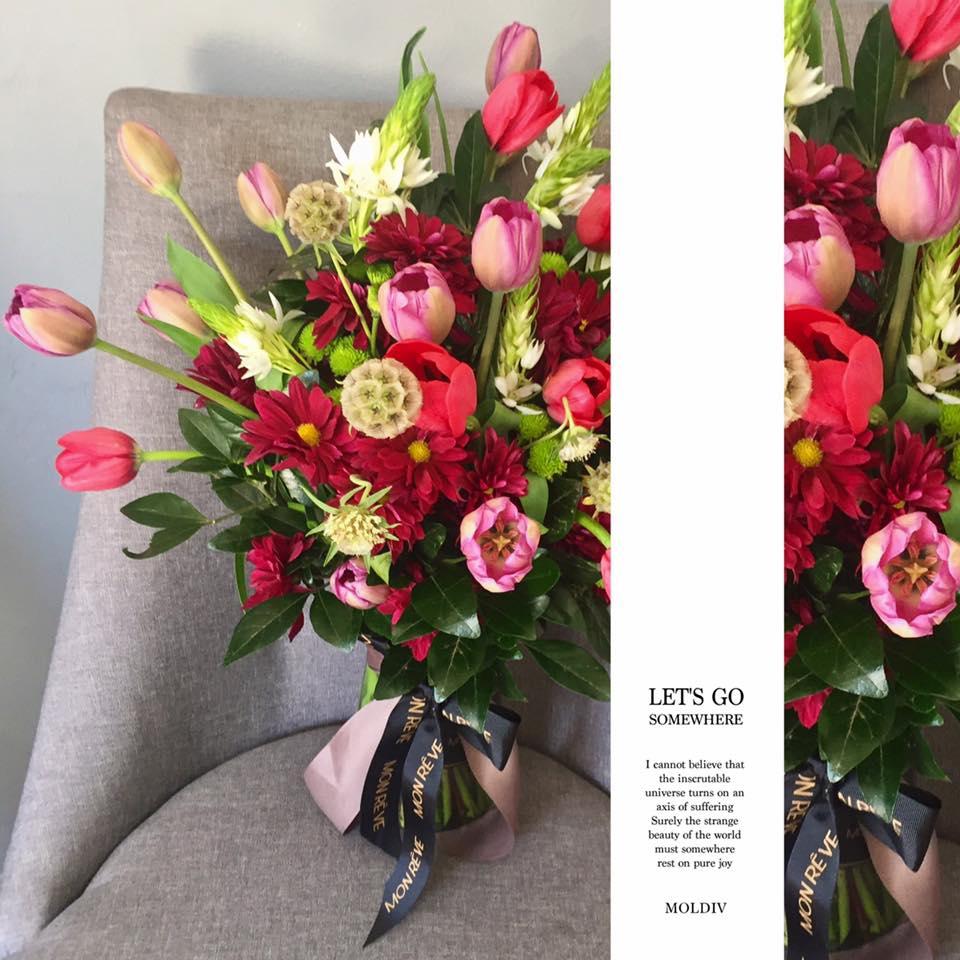 2 decenas de tulipán