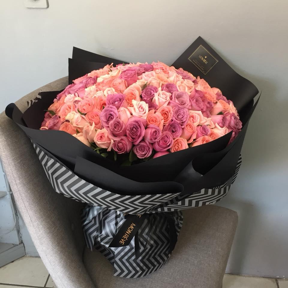 RAMO 150 rosas
