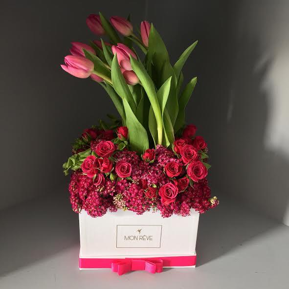 Caja tulipán (1 día de anticipación)