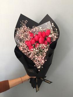 Tulipán 2 decenas / Follaje