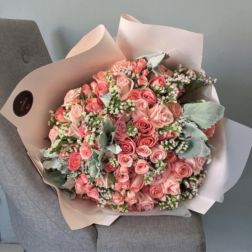 ( 50 rosas/Follaje )