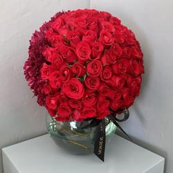 Esfera Chica (140 rosas/ follaje)