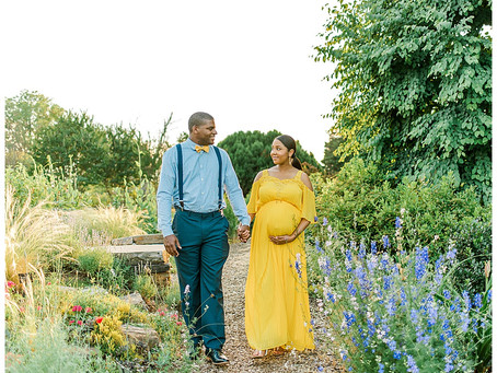 Cylburn Arboretum - Maternity Session - Baltimore, MD